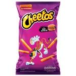 Палочки кукурузные Cheetos со вкусом биф-бургера 120г