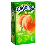 Сок Садочок персиковый с мякотью 0,5л