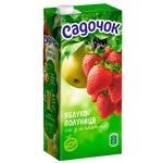 Сок Садочок яблочно-клубничный 0,95л