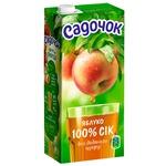 Сік Садочок яблучний прямого віджиму 0,95л