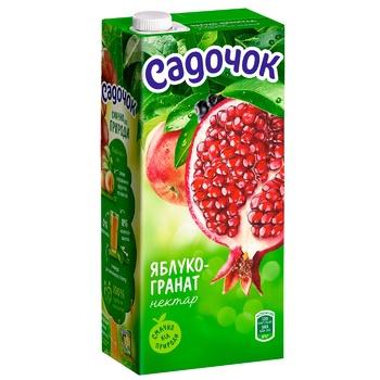 Sadochok Apple-pomegranate Nectar 0,95l - buy, prices for CityMarket - photo 1