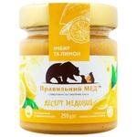 Pravylniy med with ginger and lemon Honey 250g