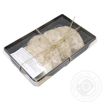Zrazy Meat with Mushrooms Fresh-frozen 500g - buy, prices for MegaMarket - image 1