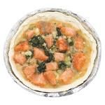 Пирог со шпинатом и лососем полуфабрикат свежемороженый 450г