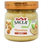 Sacla Hummus from Chickpeas Canned 190g