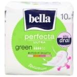 Bella Perfecta Ultra Green Hygienical Pads 10pcs