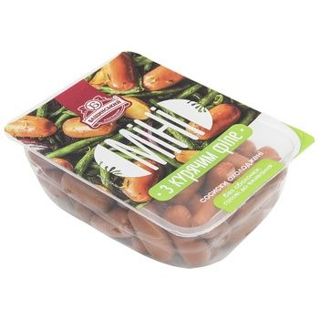Baschinsky Sausages Mini with chicken fillet cooled - buy, prices for Auchan - image 1