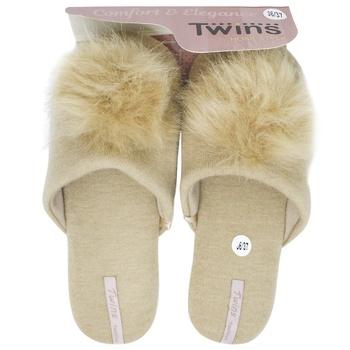 Тапочки Twins домашние женские 36-37р
