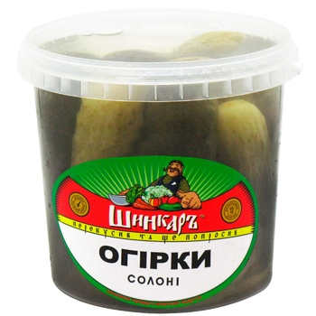 Shinkar Pickled Salt Cucumber 1000g - buy, prices for CityMarket - photo 1