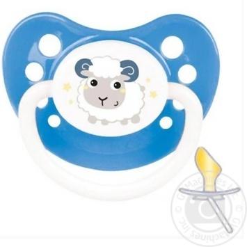 Пустышка Canpol babies Bunny&Company латексная анатомическая 6-18мес. в ассортименте