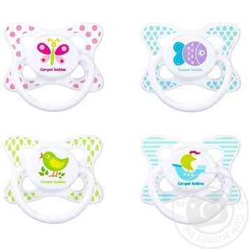 Canpol babies Summertime Soother silicone symmetrical 6-18m assortment - buy, prices for MegaMarket - image 2