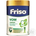 Friso 1 VOM Frisovom for children from 0 to 6 months dry milk mixture 400g