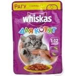 Корм Whiskas для котят с курицей в соусе 100г - купить, цены на Фуршет - фото 8