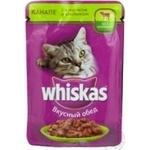 Консерва для котів Whiskas Канапе з Ягням та Кролем 100г