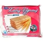 Хлібці пшеничні для діабетиків Хлібці Удальці з ехінацеєю 100г