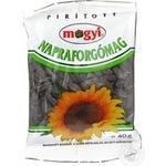 Seeds Mogyi sunflower black unsalted 40g Hungary