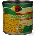 Vegetables corn Asp canned 425g can