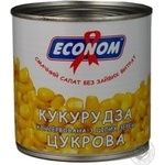 Vegetables corn Econom canned 400g can