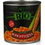 Vegetables corn Rio canned 425ml can Ukraine
