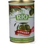 Оливки Ріо зелені з/кіст.з/б 300г
