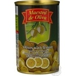Maestro de Oliva Green Olives with lemon 300ml - buy, prices for Novus - image 8