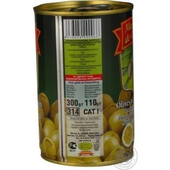 Оливки зелені Maestro de Oliva з лимоном 300мл - купити, ціни на Восторг - фото 5