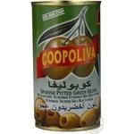 Оливки Coopoliva зеленые без косточки 370мл - купить, цены на ЕКО Маркет - фото 6