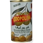 olive Coopoliva green with bone 370ml can
