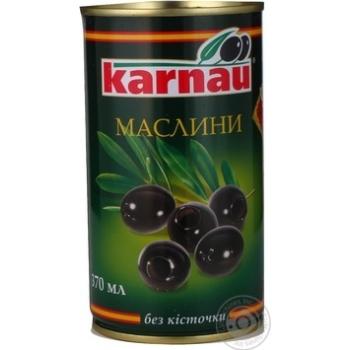 Маслини Kаrnau без кісточки 350мл