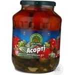 Vegetables tomato Dary laniv vegetable canned 1600g glass jar Ukraine