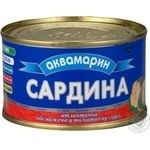 Сардины Аквамарин обжаренная в томатном соусе 240г