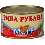 Рыба Море рубленая в томатном соусе 230г Украина
