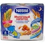 Pap Nestle milky honey liquid for children 250g Switzerland
