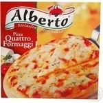 Pizza Alberto Emos frozen 320g cardboard box Germany