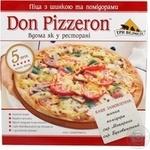 Піцца з шинкою та помідорами Don Pizzeron Три Ведмедi 350г