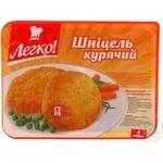 Schnitzel Legko chicken precooked 610g Ukraine