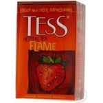 Herbal tea Tess Flame with strawberry and orange flavor 90g Ukraine