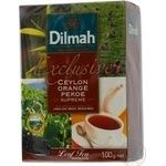 Tea Dilmah black loose 100g cardboard packaging Sri-lanka
