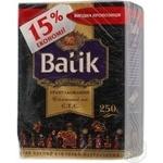 Black pekoe tea Batik Granulated CTC 250g Ukraine