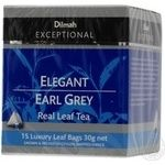 Tea Dilmah Earl grey black packed 15pcs 30g Sri-lanka