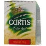 Чай чорний середньолистовий Ceilon Gold Curtis 100г