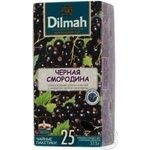 Tea Dilmah currant black packed 25pcs 37.5g Sri-lanka