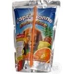 Напиток Капризон Сафари Фрутс соковый 200мл Украина