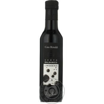 Уксус Casa Rinaldi бальзамический из Модены черная этикетка 6% 250мл - купить, цены на Novus - фото 2