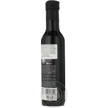 Уксус Casa Rinaldi бальзамический из Модены черная этикетка 6% 250мл - купить, цены на Novus - фото 6