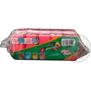 Набор губок кухонных Мелочи жизни Лимон 5шт - купить, цены на Фуршет - фото 8