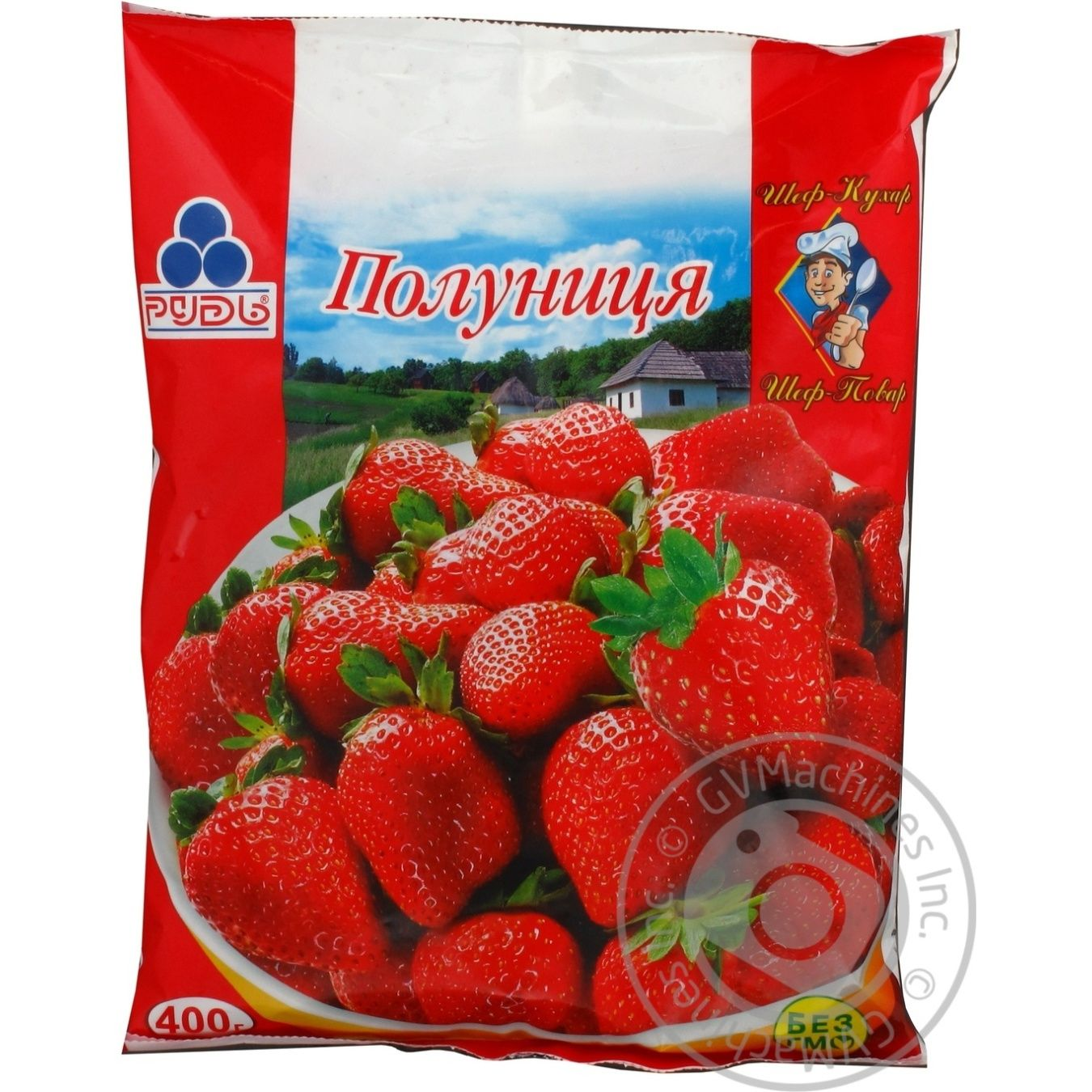 berry strawberry Rud frozen 400g → Frozen → Fruits