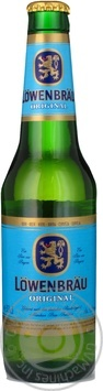 Скидка на Пиво Lowenbrau Original светлое 5.2% 330мл