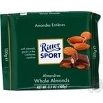 Chocolate milky Ritter sport with nuts bars 30% 100g flow-pack Germany