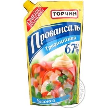 Майонез Торчин Провансаль традиционный 67% 400г Украина